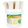 (4 Ea) 1 Lb Bucket Modeling Clay White