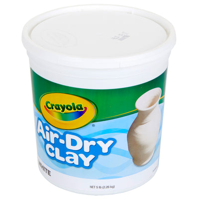 Crayola Air Dry Clay 5 Lbs White - Student Spotlight