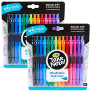 (2 Pk) 14 Ct Take Note Washable Gel Pens