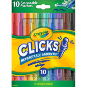 Clicks Retractable Markers 10pk
