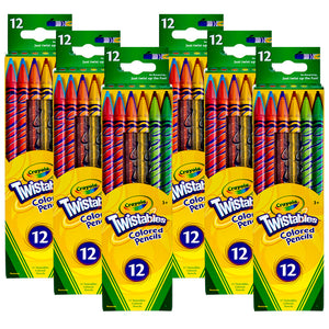 (6 Bx) Crayola Twistables 12ct Per Bx Colored Pencils - Student Spotlight