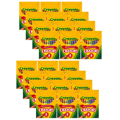 (24 Bx) Crayola Regular Size 8 Colors Per Bx