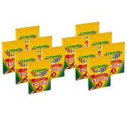 (12 Bx) Crayola Large Size Tuck Box 8ct Per Bx
