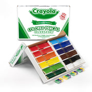 Colored Pencils 240 Ct Classpack 12 Assorted Colors Full Length
