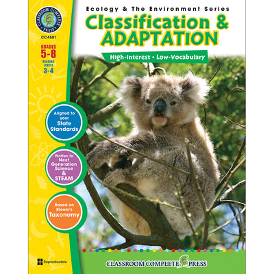 (3 Ea) Ecology & The Environment Series Classification & Adaptation