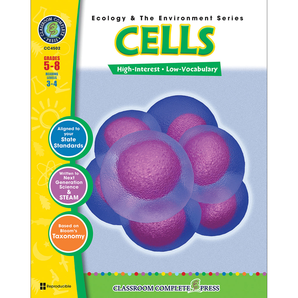 (3 Ea) Ecology & The Environment Series Cells