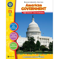 AMERICAN GOVERNMENT GOVERNMENTS