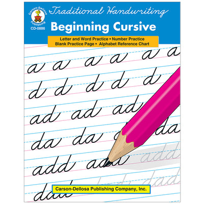 Traditional Handwriting Beginning Cursive Resource Book Gr 4-8 - Student Spotlight