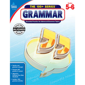 100 Plus Grammar Workbook Gr 5-6