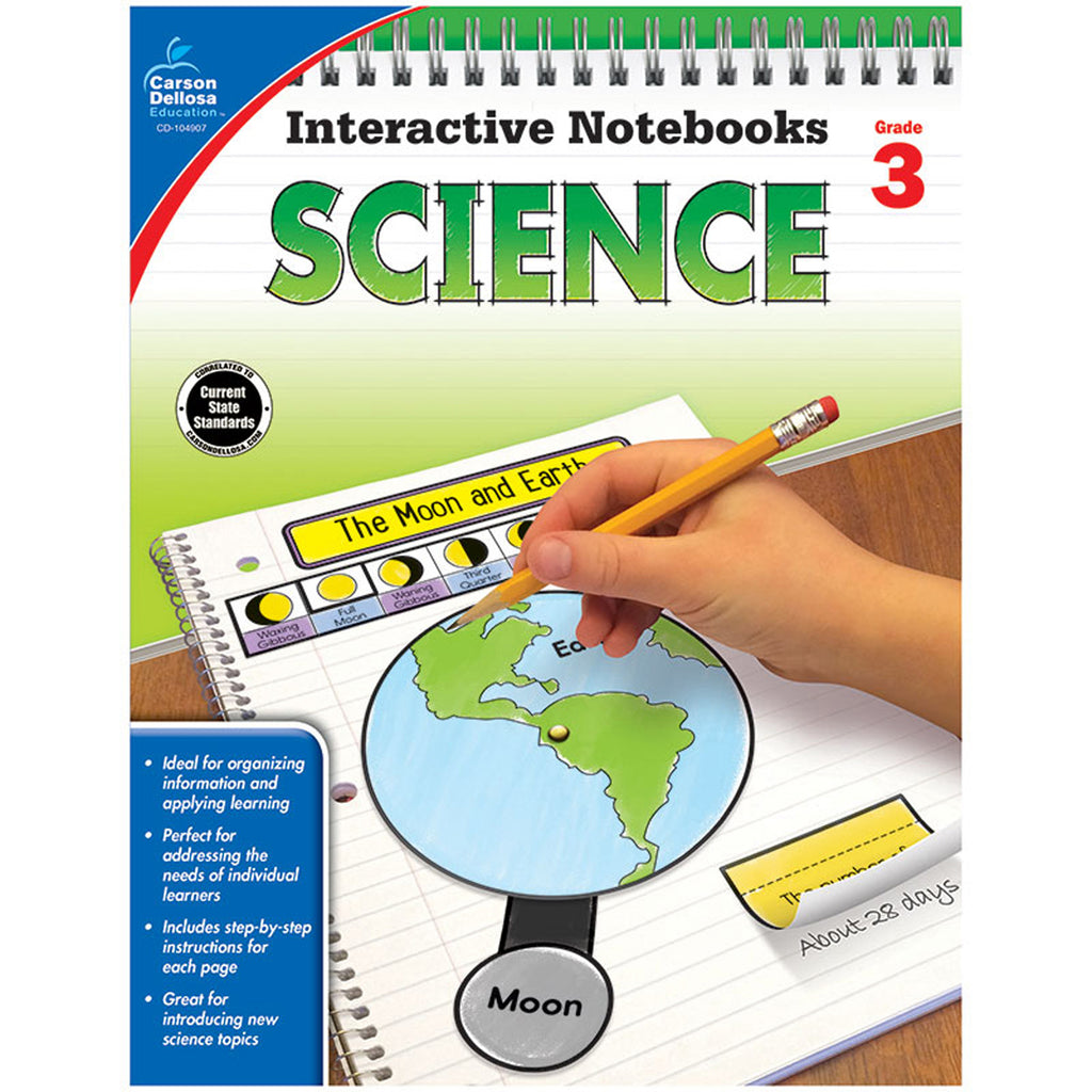 INTERACTIVE NOTEBOOKS SCIENCE GR 3
