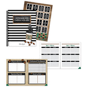 Industrial Cafe Teacher Planner