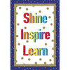 Shine Inspire Learn Poster Sparkle & Shine