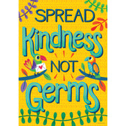 """spread Kindness, Not Germs Poster"" One World"