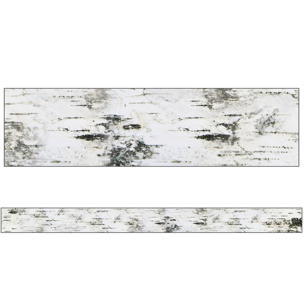 (6 Pk) Birch Tree Straight Borders Woodland Whimsy