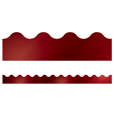 Cherry Foil Scalloped Borders Sparkle And Shine