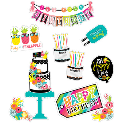 Tropical Pineapple Birthday Bb St Simply Stylish