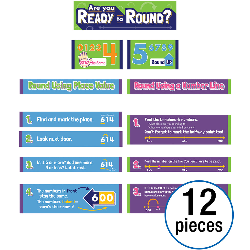 Rounding Numbers Mini Bb Set