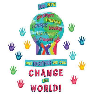 Together We Can Change World Bb St One World
