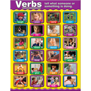 VERBS PHOTOGRAPHIC CHARTLETS