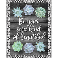Be Your Own Kind Of Beautiful Chart Simply Stylish