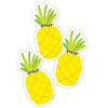 (3 Pk) Tropical Pineapple Cut-outs Simply Stylish