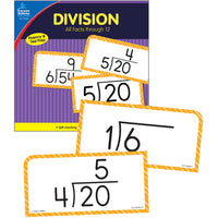 (2 St) Division Facts Thru 12 Flash Cards