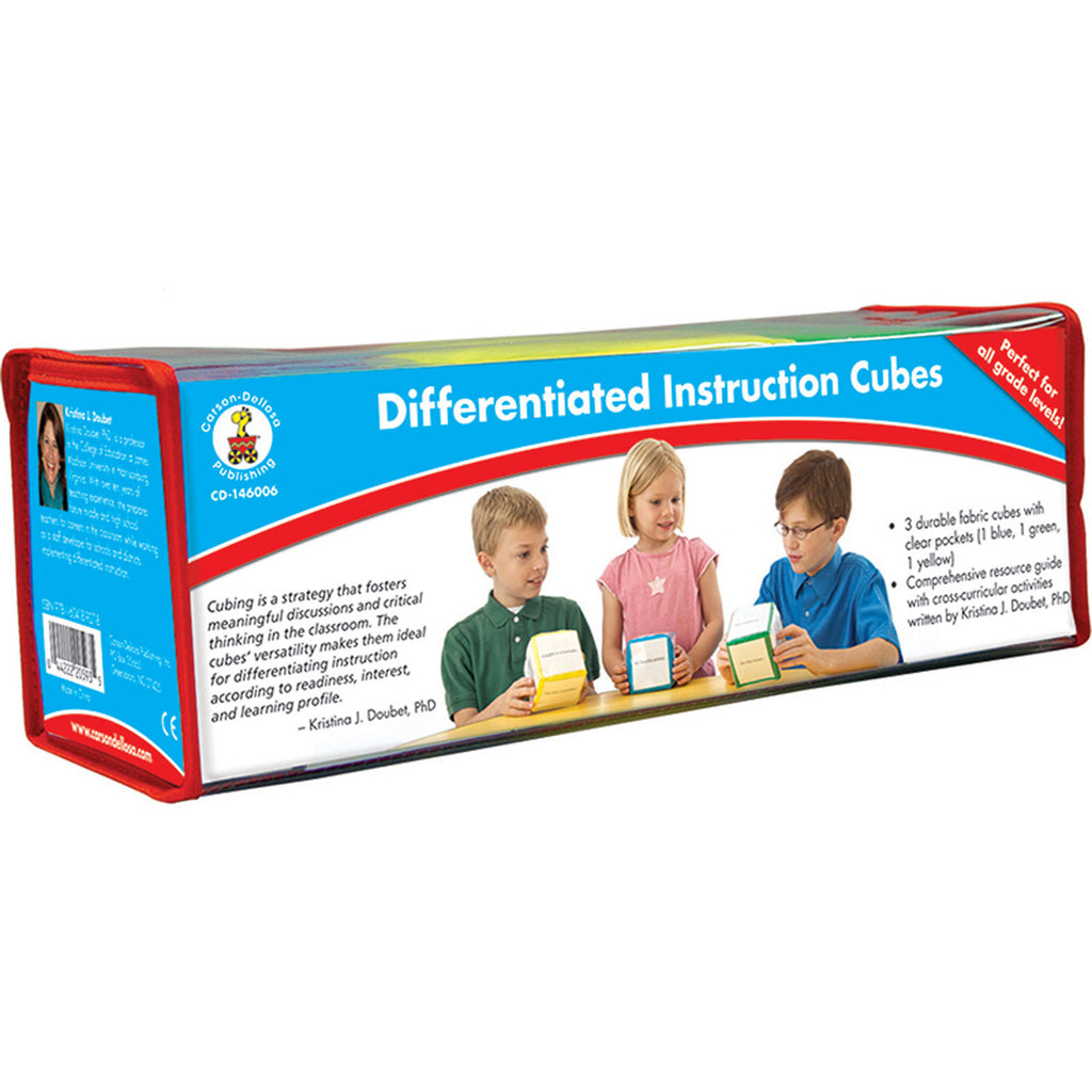 DIFFERENTIATED INSTRUCTION CUBES 3