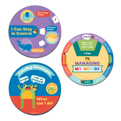 Ez-spin Calming Wheels Manipulative