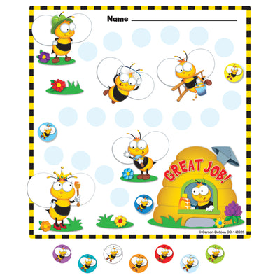 Buzz-worthy Bees Mini Incentive Charts