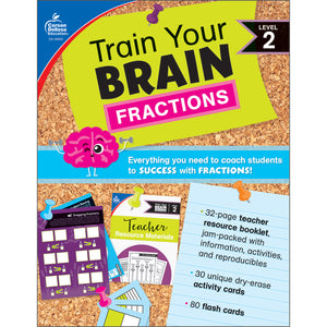 (2 Ea) Train Your Brain: Fractions Level 2