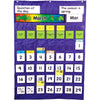 Complete Calendar & Weather Pocket Chart