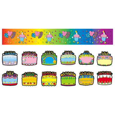 (2 St) Bb Set Birthday Cakes