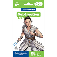 Star Wars Subtraction 0-12 Flash Cards