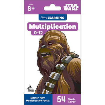 Star Wars Multiplication 0-12 Flash Cards