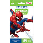 Marvel Addition 0-12 Flash Cards