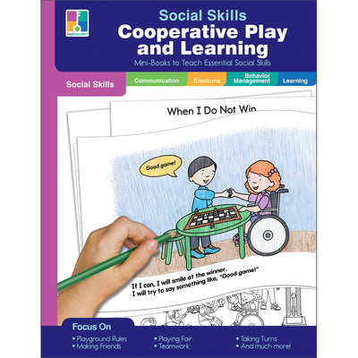 Mini-books Co-op Play & Learning Social Skills