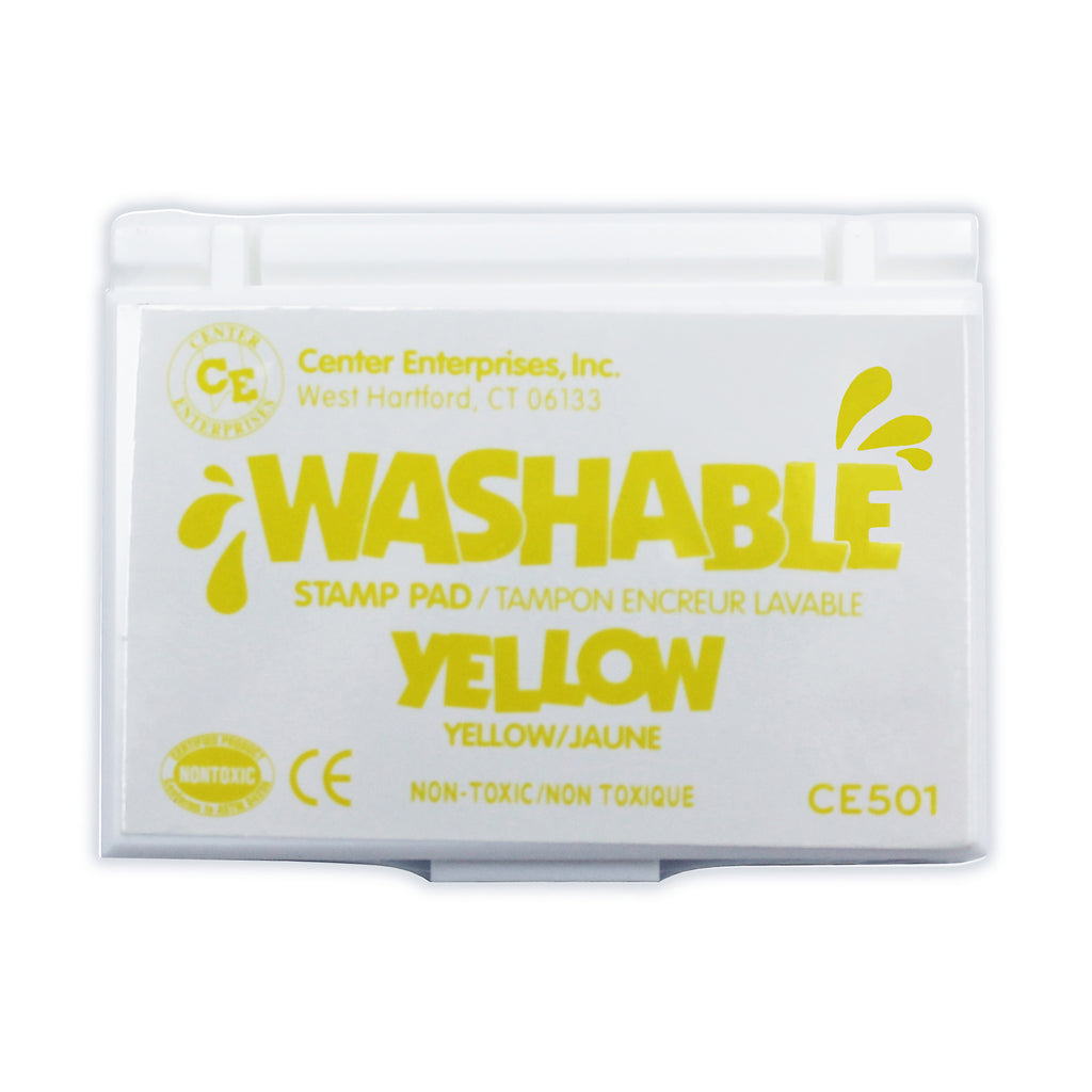 Stamp Pad Washable Yellow