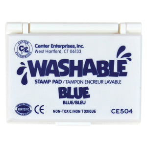Stamp Pad Washable Blue