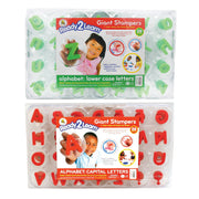 Ready2learn Giant Alphabet Letters Stampers Set Includes Ce-6711&6712