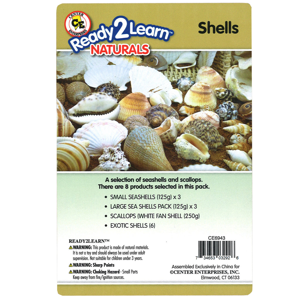 NATURAL ASSORTMENTS: SHELLS