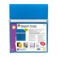 Blue Magnetic Pocket 9.5x11.75