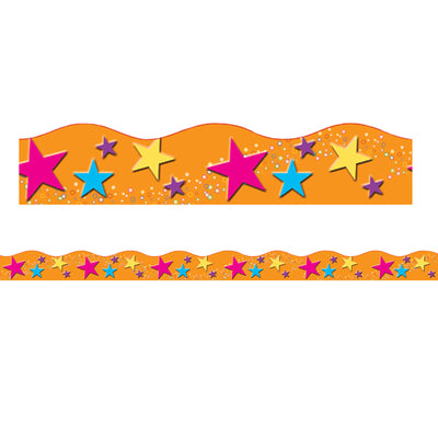 Star Theme Magnetic Border Scallopd