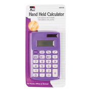 (6 Ea) Primary Calculator 8 Digit Display