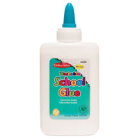 (12 Ea) Economy Washable School Glue 4 Oz