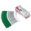(3 Bx) 12ct Per Bx Green Bullet Tip Dry Erase Markers Pocket Style
