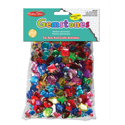Gemstones Assorted Styles & Colors 1lb