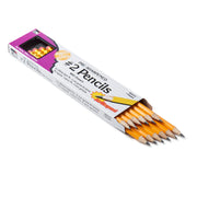 (12 Dz) Pencil #2 Lead Presharpened W-eraser Ylw 12 Per Box