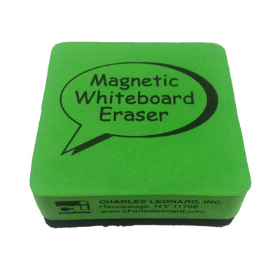 (3 Pk) 2x2 Lime 12 Per Pk Magnetic Whiteboard Erasers