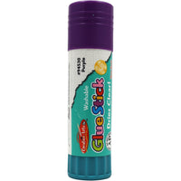 (24 Ea) Economy Glue Stick 1.3oz Purple
