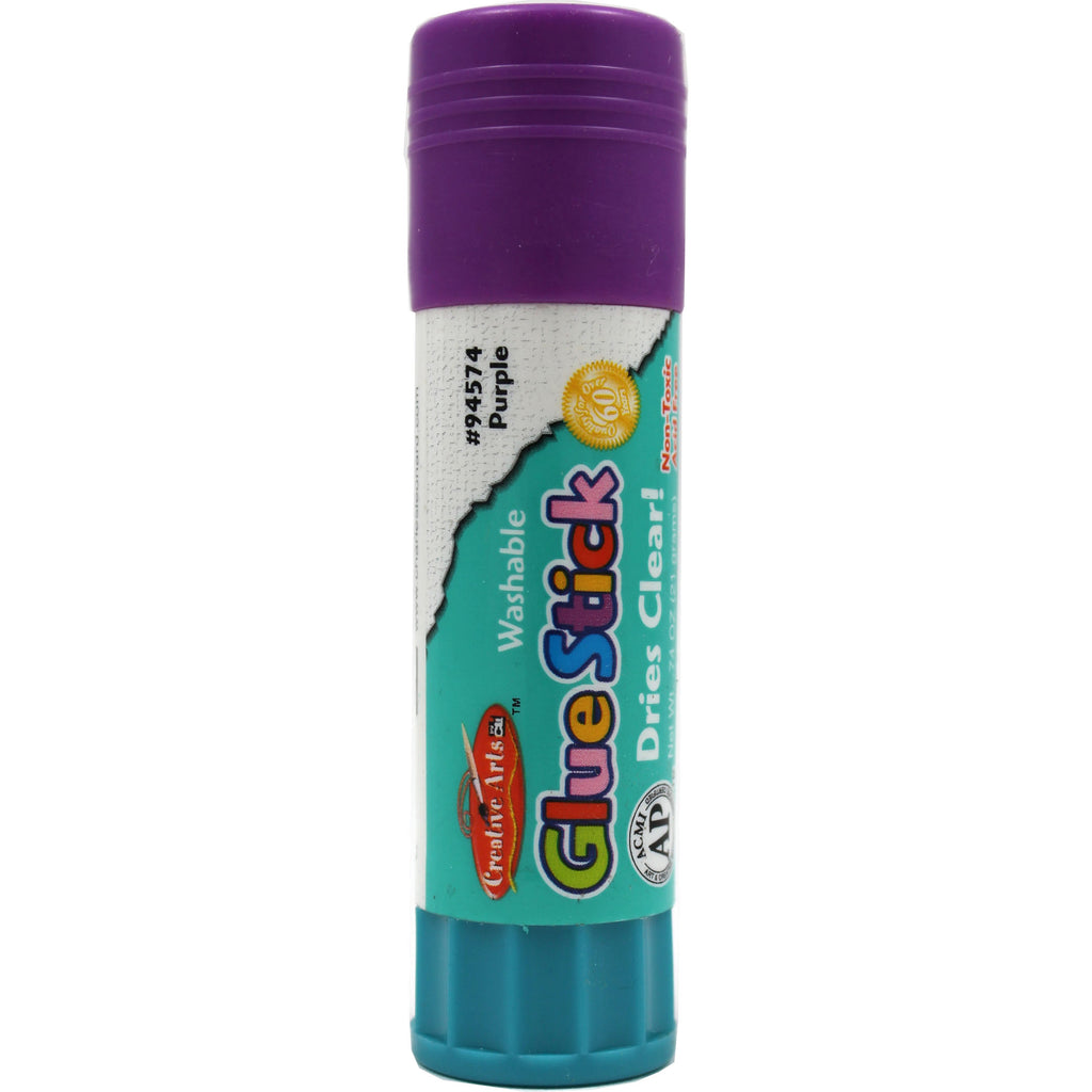 (36 Ea) Economy Glue Stick .74oz Purple